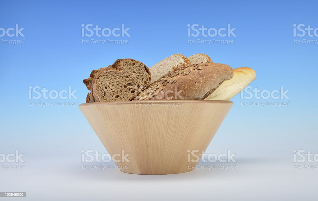 Assortment of Bread royalty-free stock photo