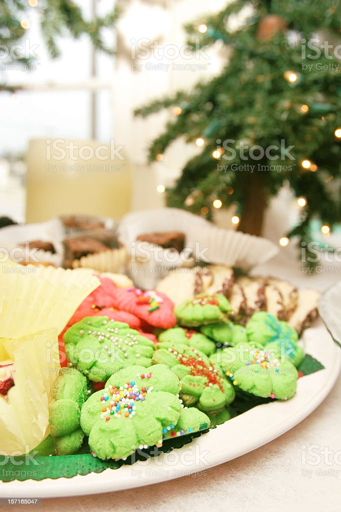 Assortment of Christmas Cookies royalty-free stock photo