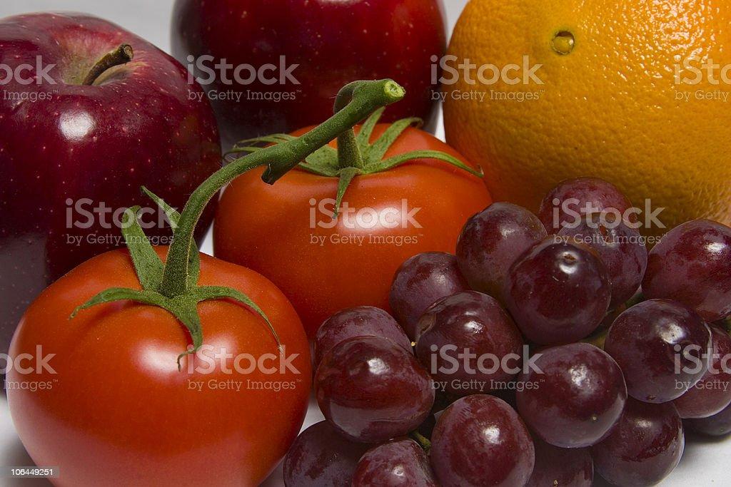 Assortment of Fruit stock photo