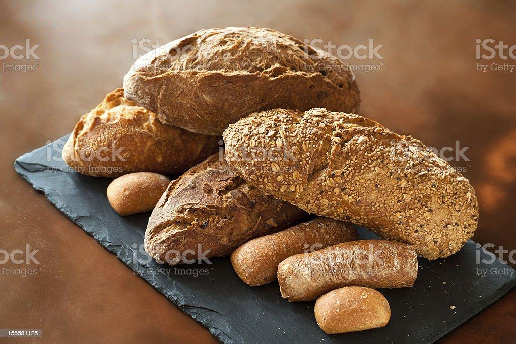 Assortiment de pains traditionnels. photo libre de droits
