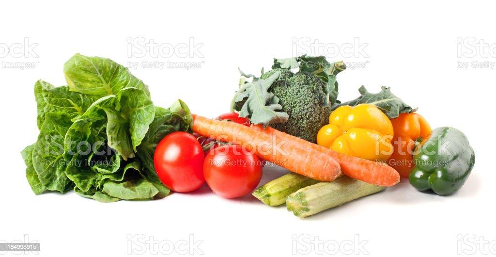 Assortment of vegetables stock photo