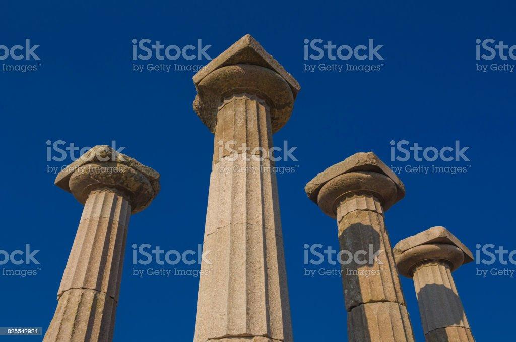 Assos, Behramkale, Canakkale stock photo