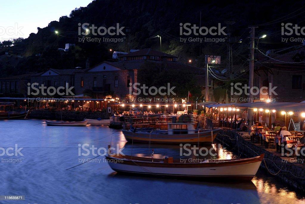 Assos, Behramkale, Turkey stock photo