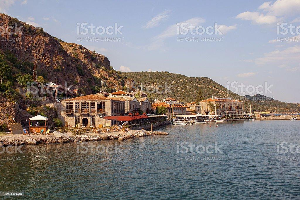 Assos City stock photo
