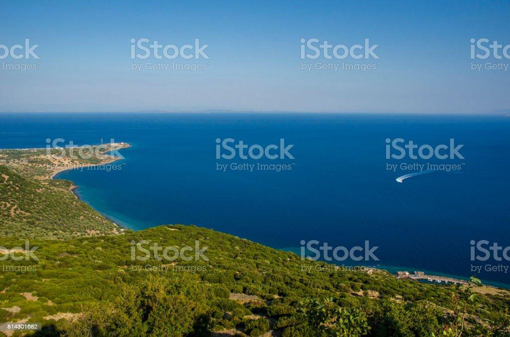 Assos,Behramkale,Canakkale,Turkey stock photo