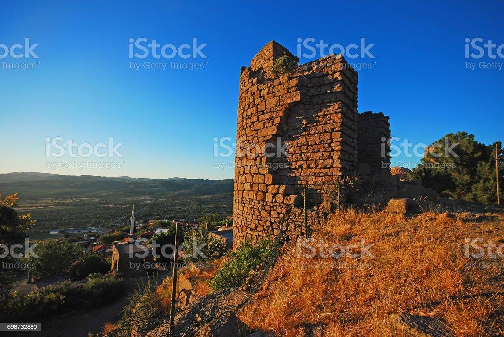 Assos,Behramkale,Turkey stock photo