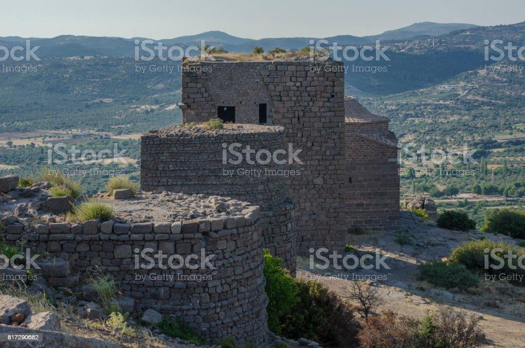 Assos,Canakkale,Turkey stock photo