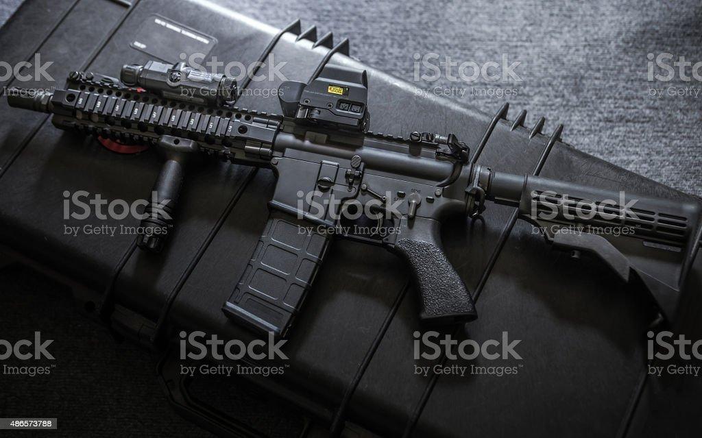assult rifle stock photo