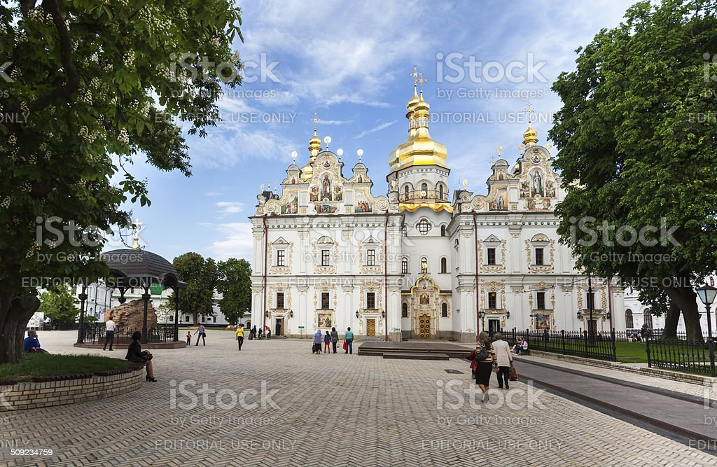 Assumption (Uspensky) Cathedral is a church stock photo