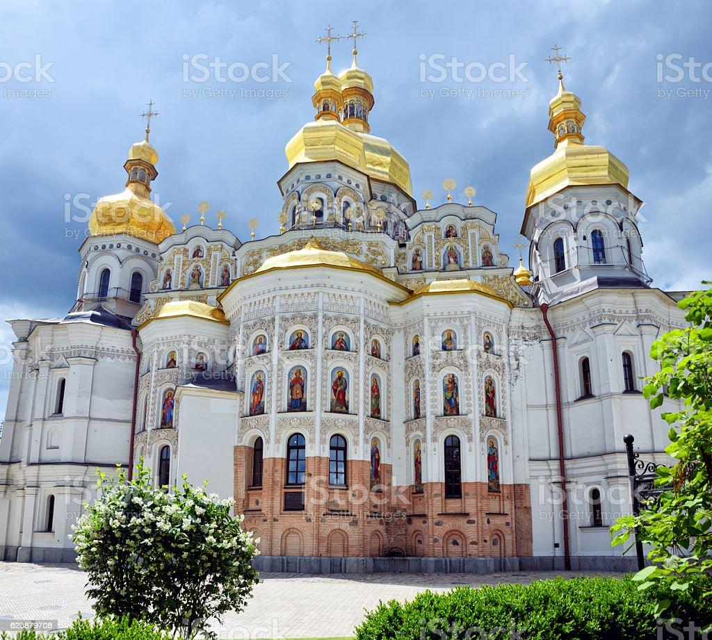 Assumption (Uspensky) Cathedral, Kyiv stock photo