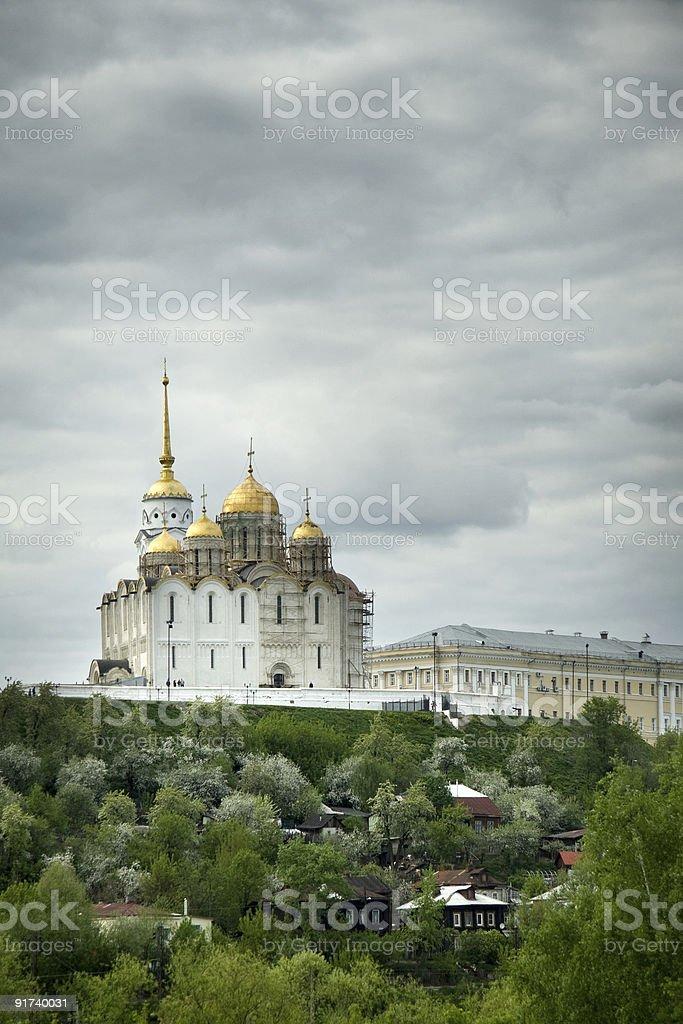 Assumption Cathedral stock photo