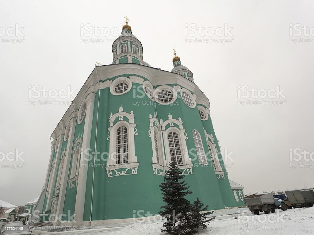 Assumption Cathedral. Smolensk. Russia. royalty-free stock photo