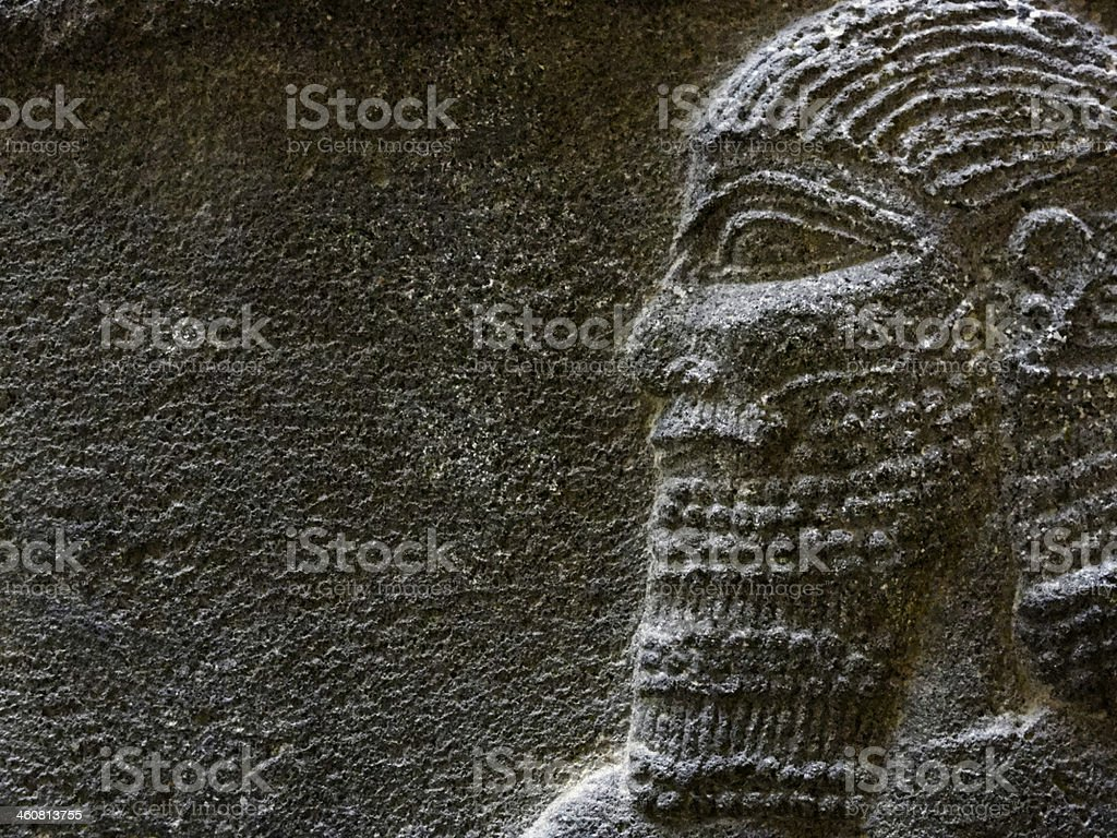 Assyrian Soldier stock photo