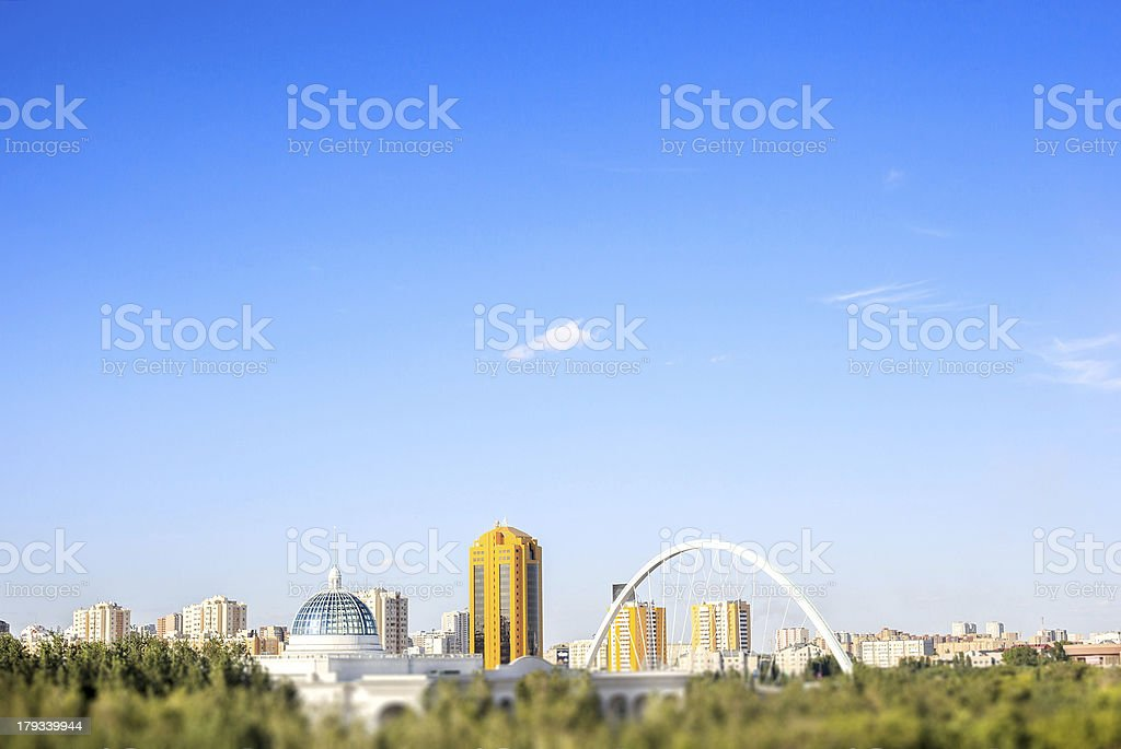 Astana - capital of Kazakhstan stock photo