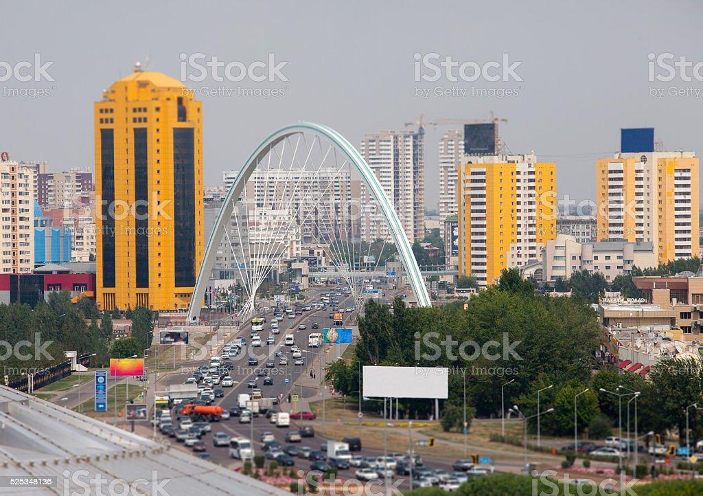 Astana City stock photo