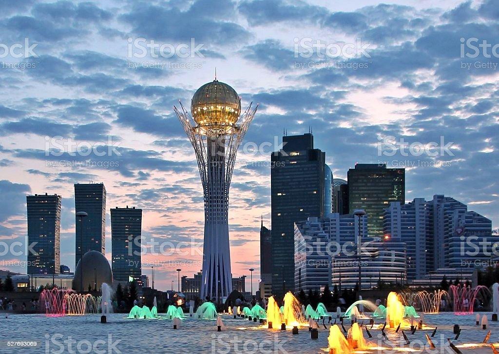Astana Krajobraz miejski zbiór zdjęć royalty-free