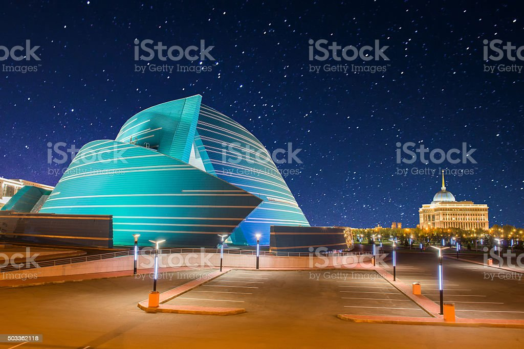 Astana, Kazakhstan stock photo