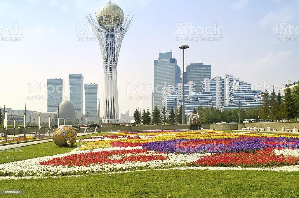 Astana. Municipal landscape royalty-free stock photo