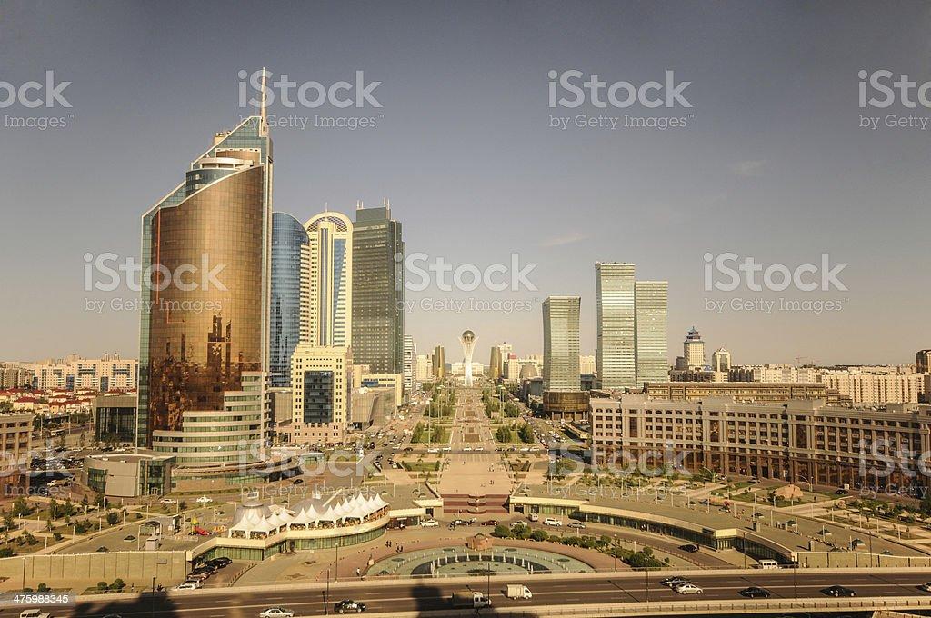Astana Panorama stock photo