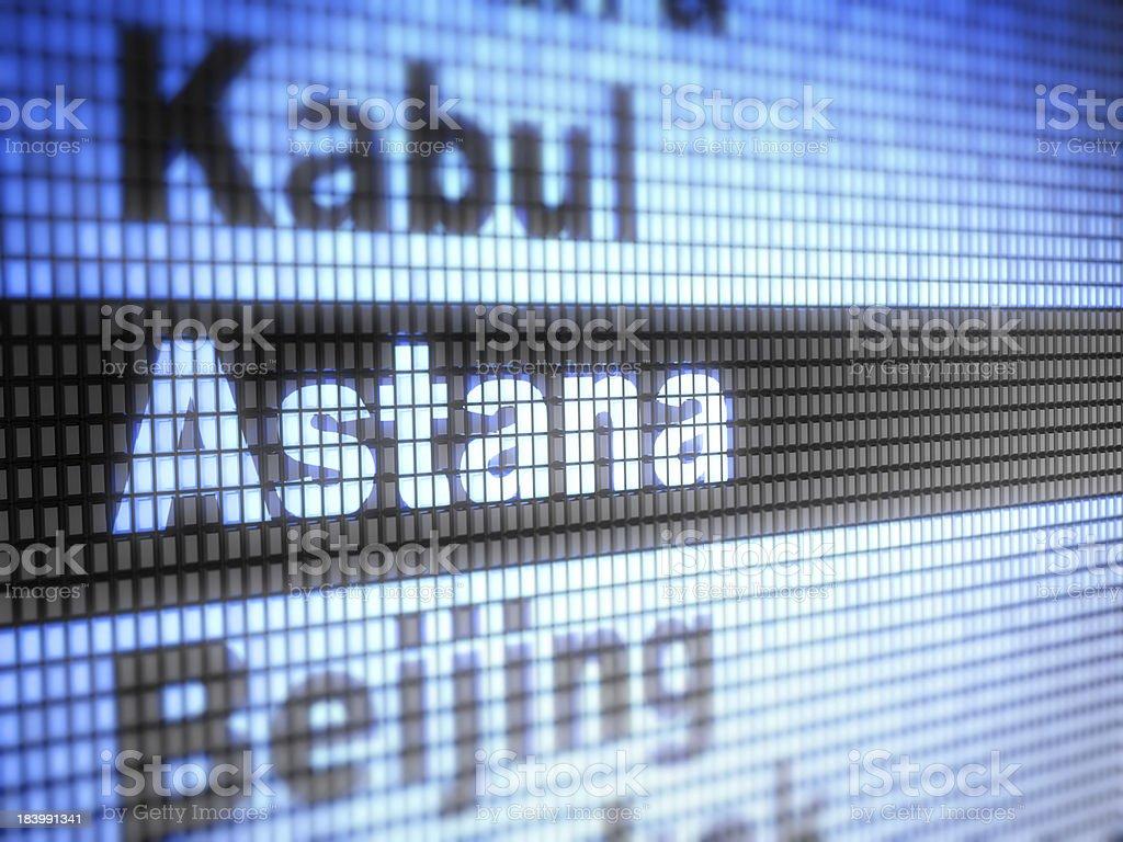 astana royalty-free stock photo