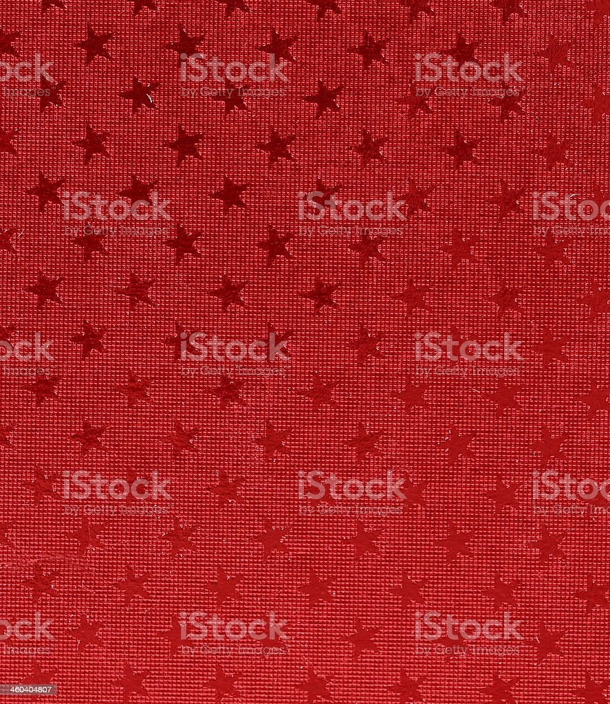 Asterisks on red background. royalty-free stock photo