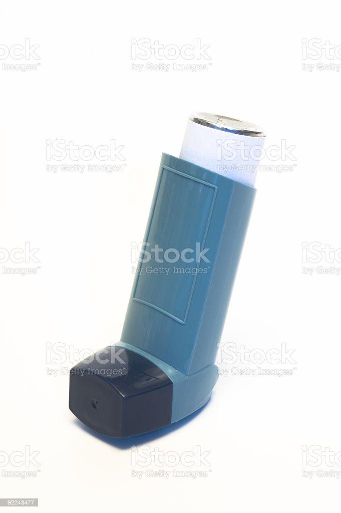 Asthma Inhaler royalty-free stock photo