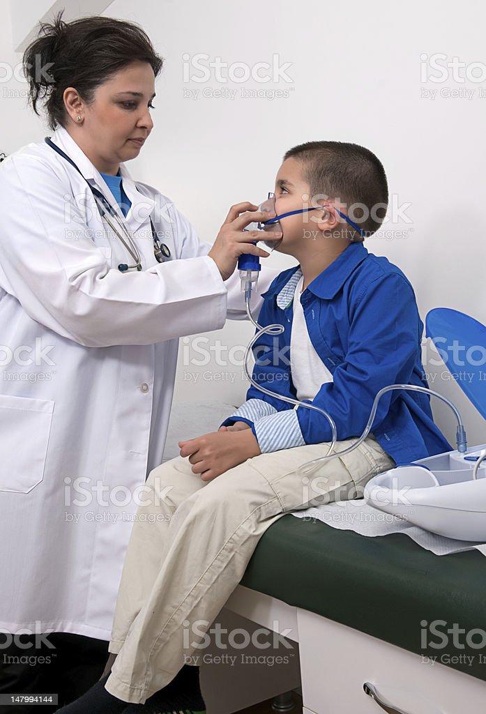 Asthma Nebuliser stock photo