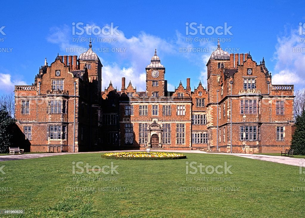 Aston Hall, Birmingham. stock photo