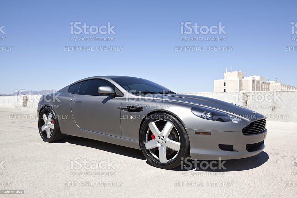 Aston Martin DB 9 stock photo