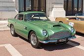 Aston Martin DB4 in Monte Carlo, Monaco