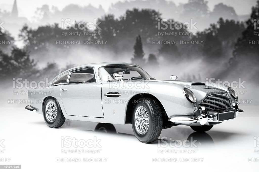 Aston Martin DB5 Model stock photo