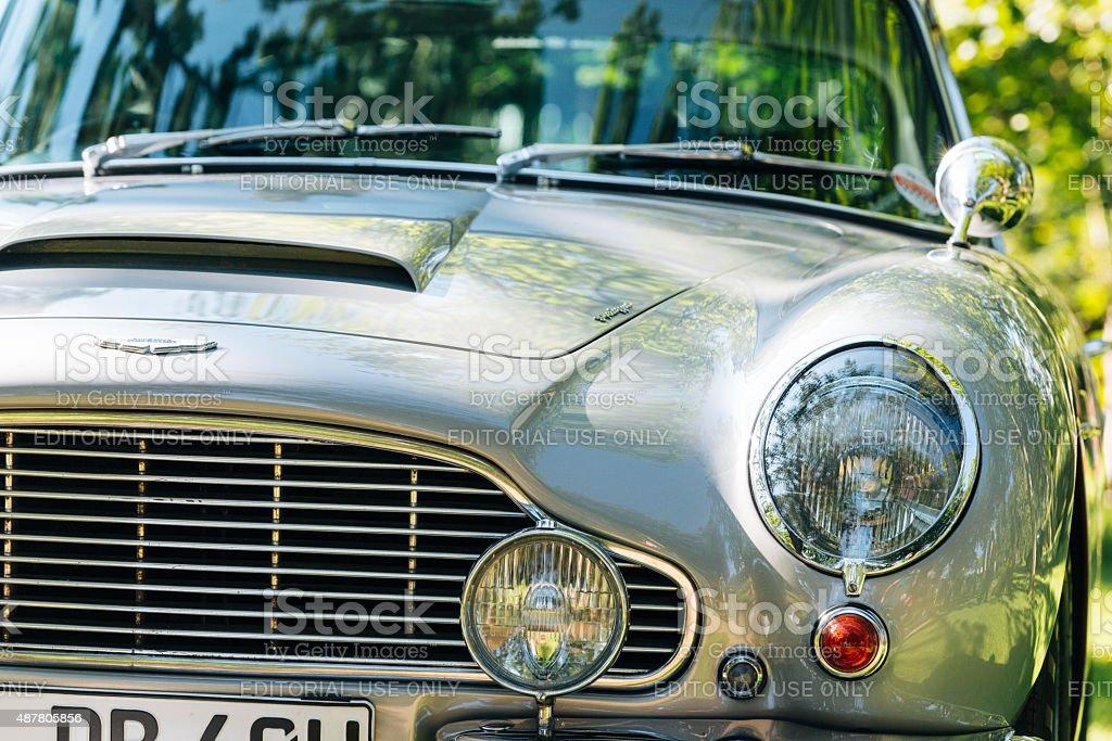 Aston Martin DB5 Vantage stock photo