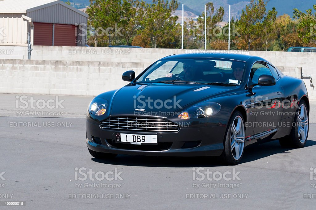 Aston Martin DB9 from 2005 stock photo
