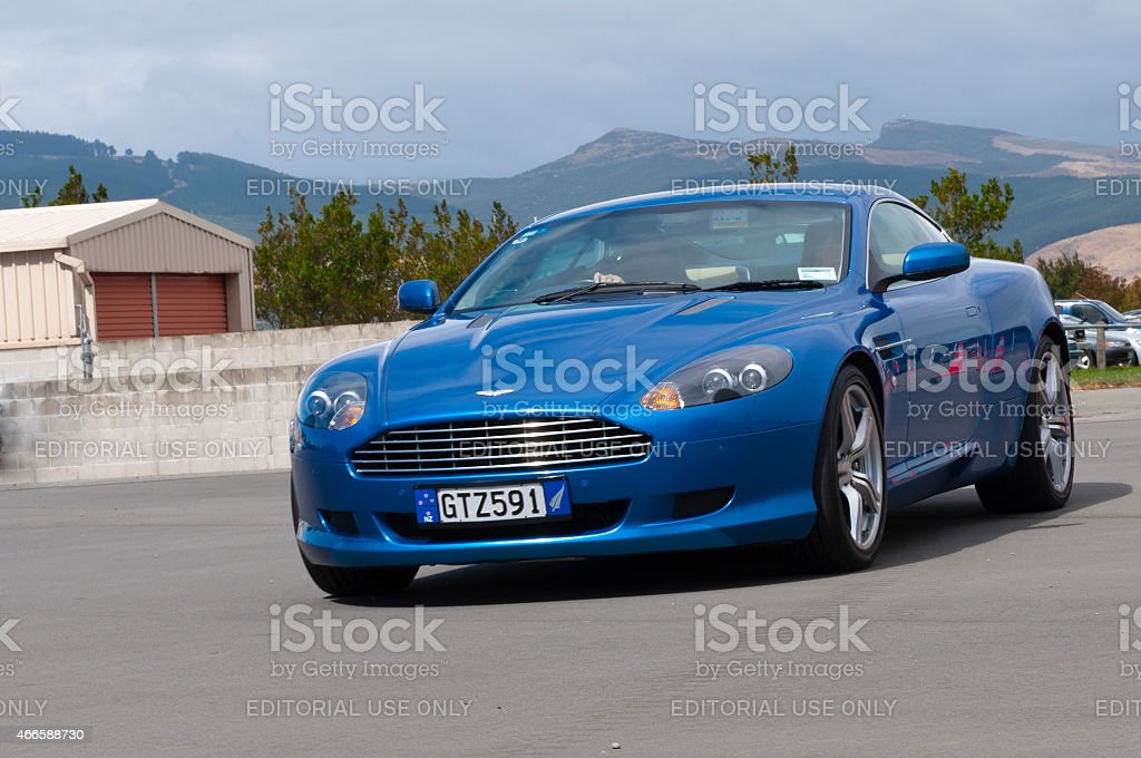 Aston Martin DB9 from 2008 stock photo