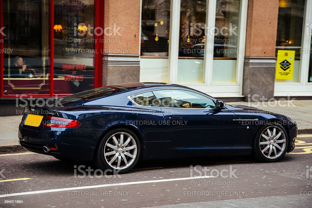 Aston Martin DB9 stock photo