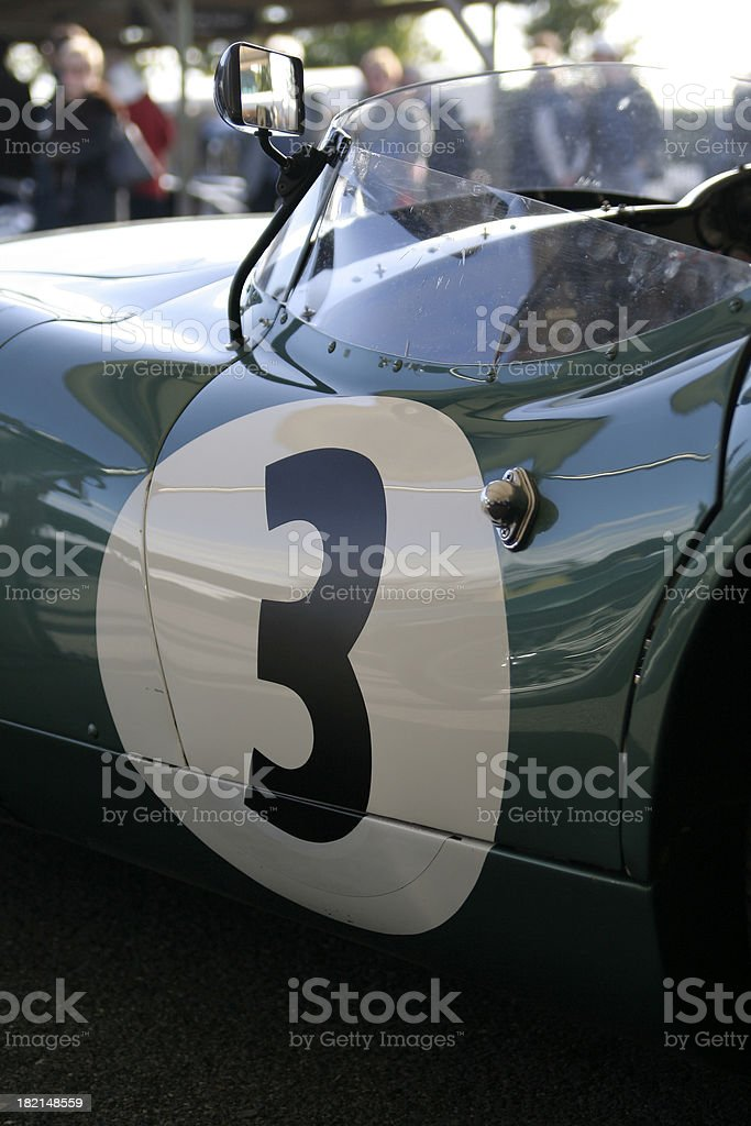 Aston Martin DBR1 royalty-free stock photo