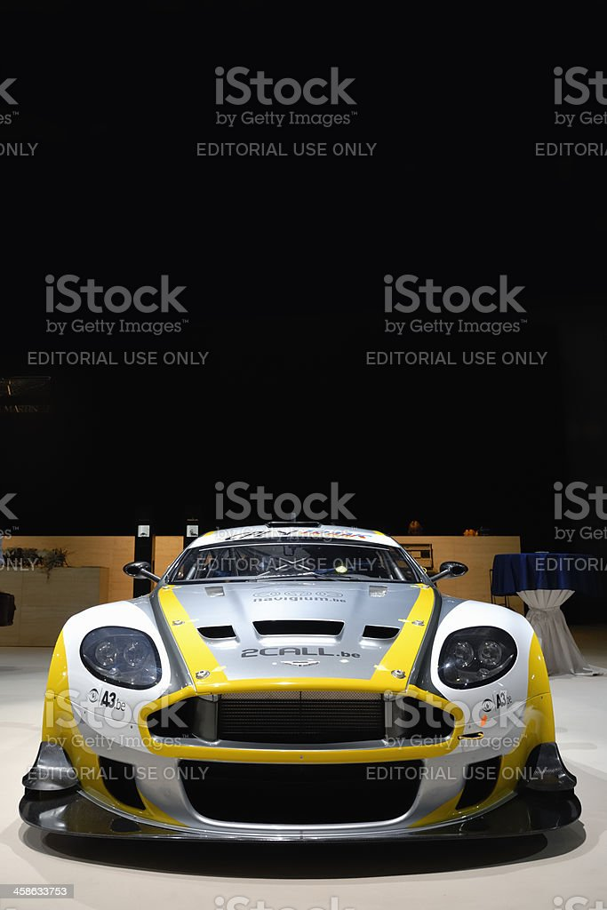 Aston Martin DBR9 race car stock photo