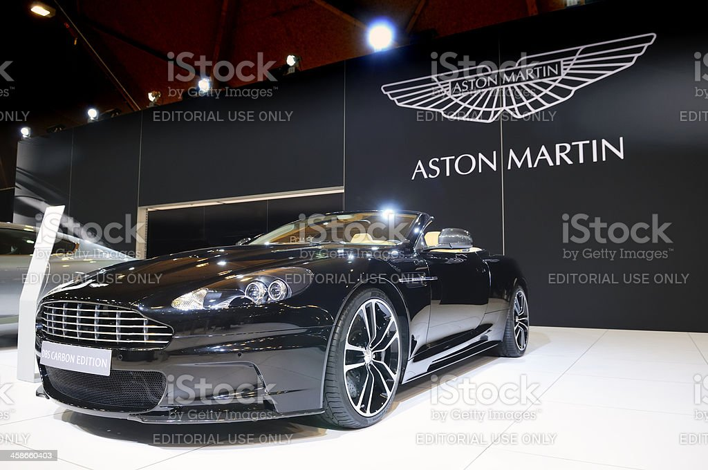 Aston Martin DBS stock photo
