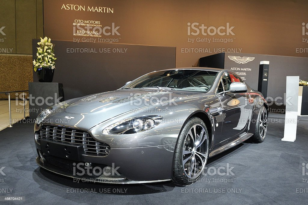 Aston Martin DBS V12 stock photo