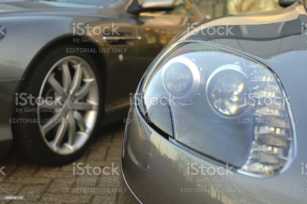 Aston Martin royalty-free stock photo