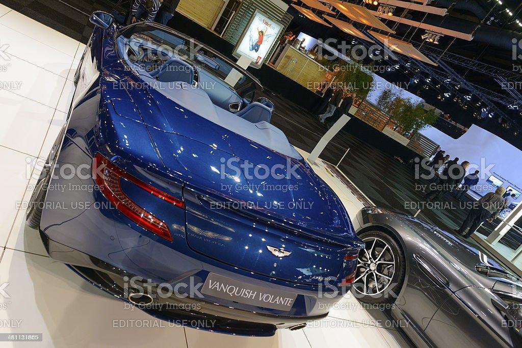 Aston Martin Vanquish Volante stock photo