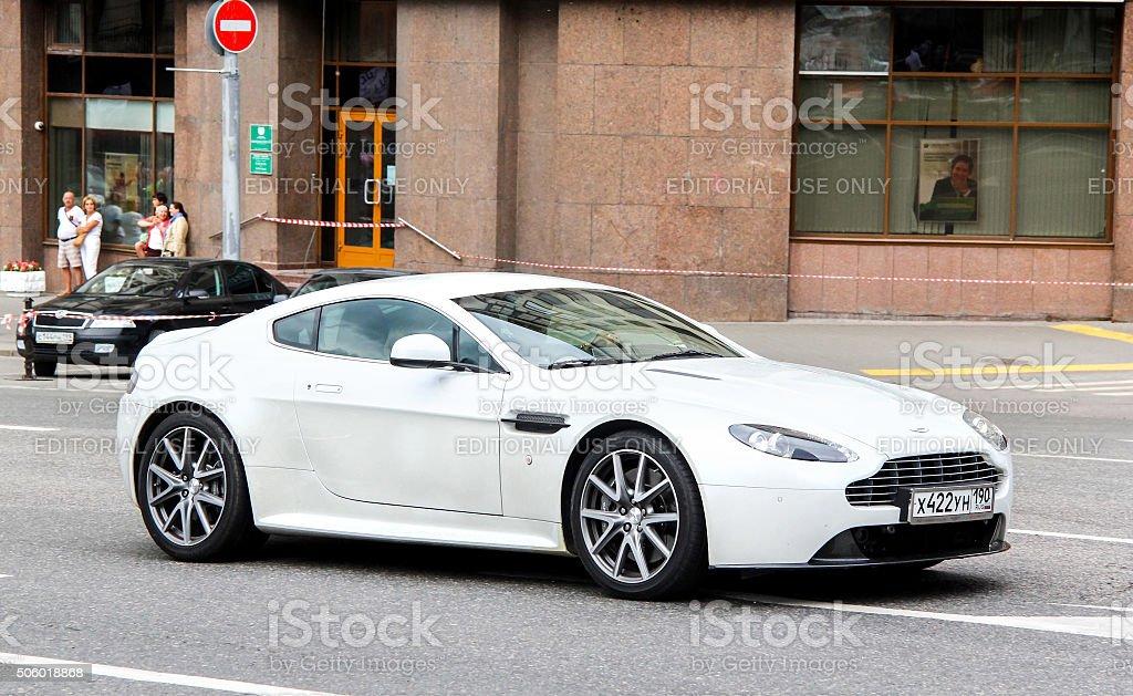 Aston Martin Vantage stock photo