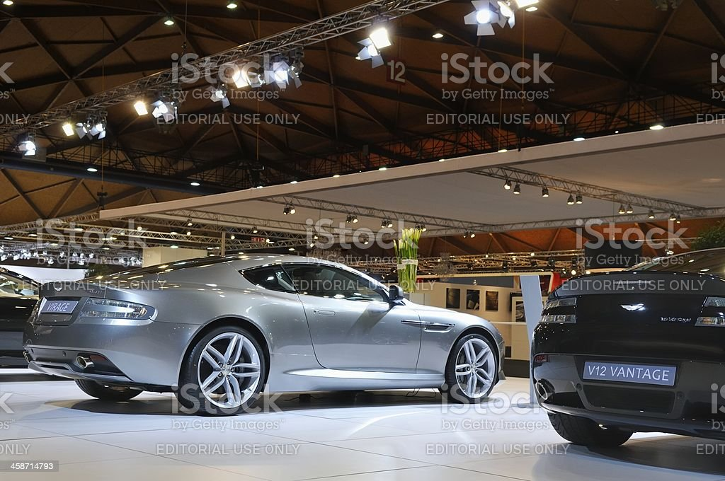 Aston Martin Virage stock photo