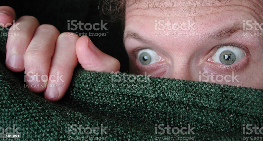 Astonished look royalty-free stock photo