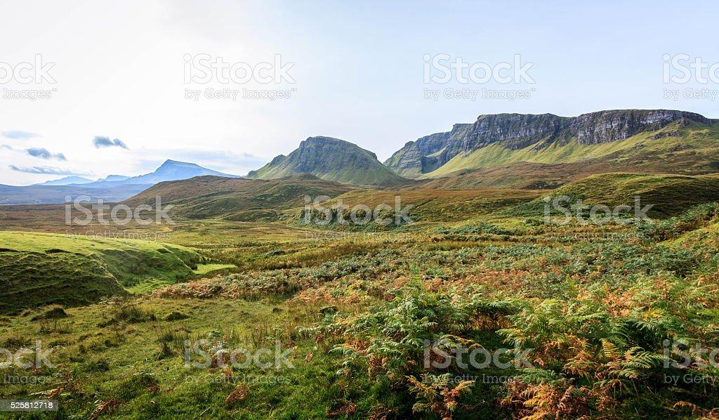 Astonishing landscape stock photo