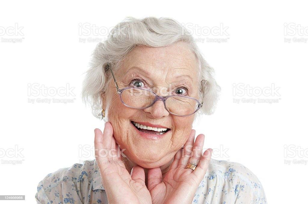 Astonishment and surprise royalty-free stock photo
