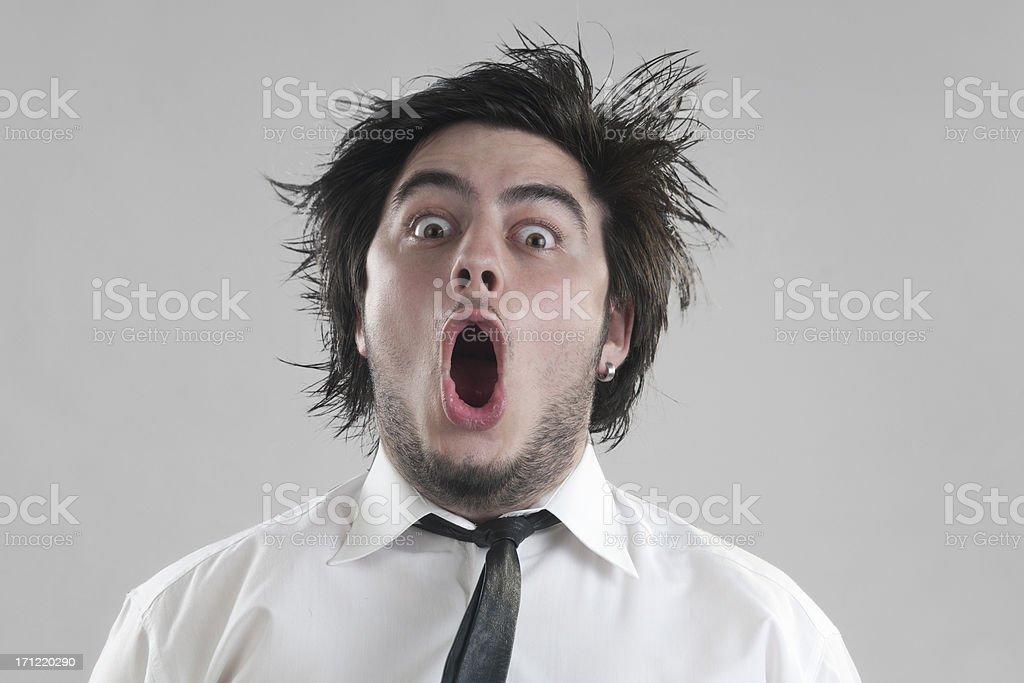 astonishment stock photo
