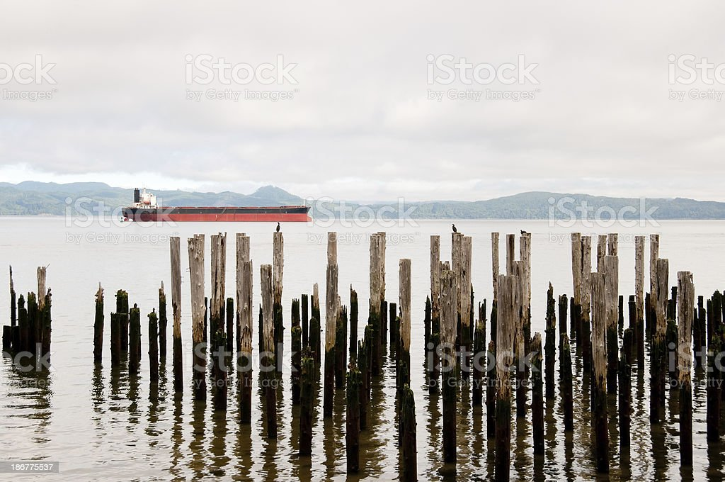 Astoria Bay stock photo
