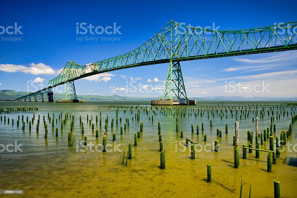 Astoria Bridge 1 stock photo
