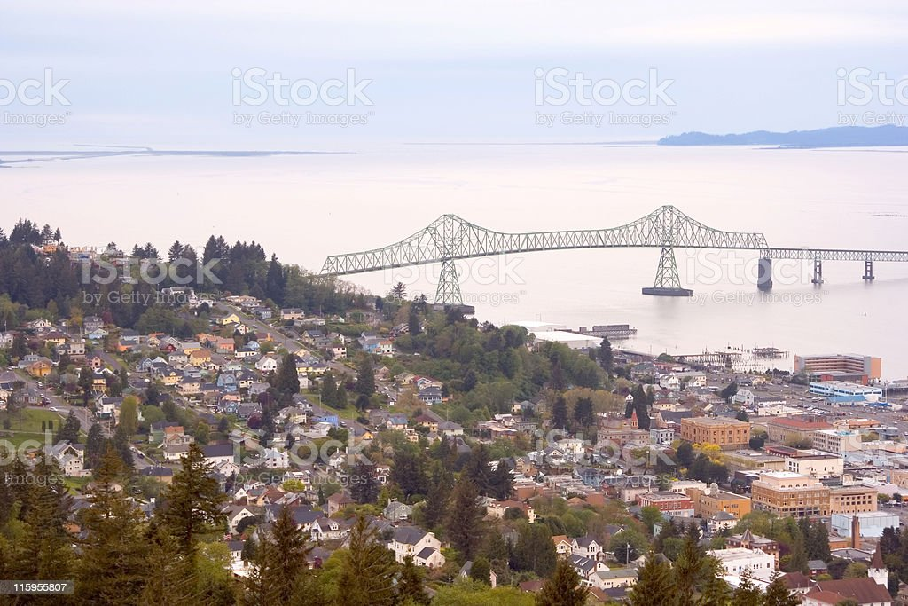Astoria, Oregon stock photo